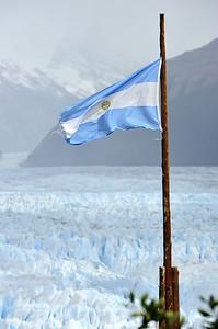 Argentinian Flag, Pietro Moreno Glacier
