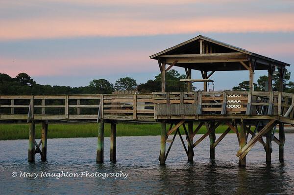 Pier, May River, Bluffton, SC