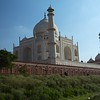 Side view of the Taj.