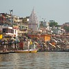 Dasaswamedh Ghat is one of the busiest ghats in Varanasi.