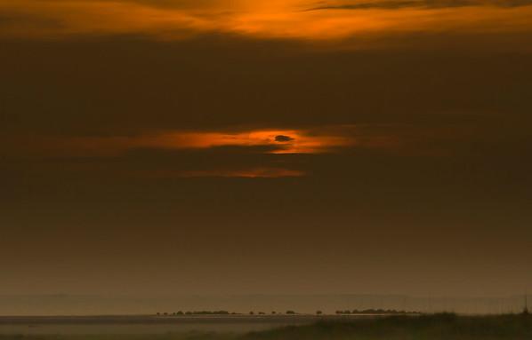 Sunset on Padre Bayside