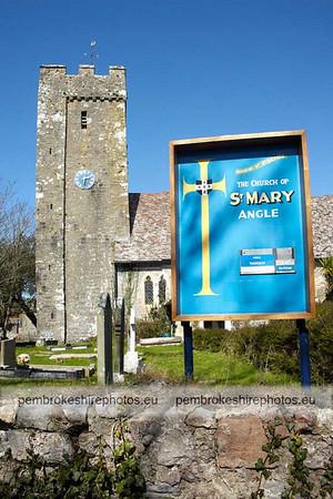 St Mary's, Angle