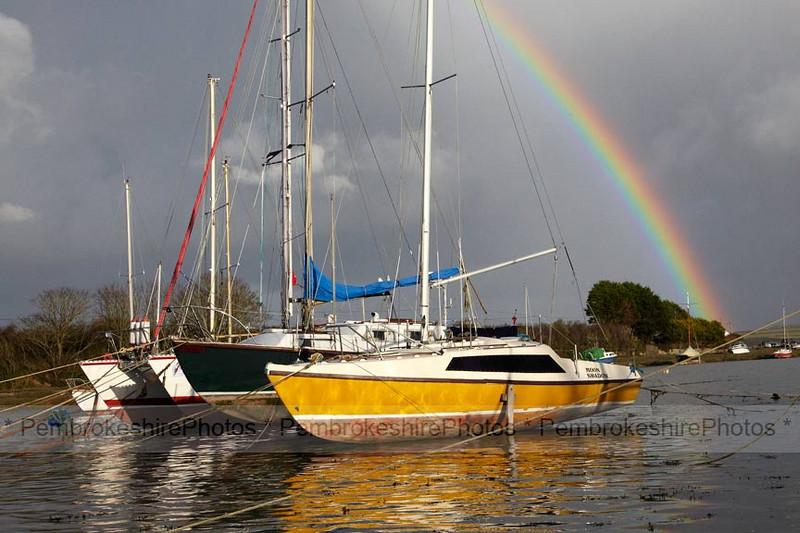 Rainbow over Angle