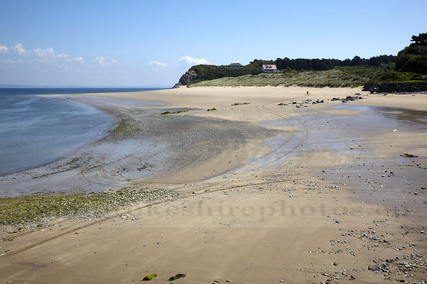 Priory Beach, Caldey Island.