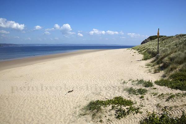 Priory Beach, Caldey Island.