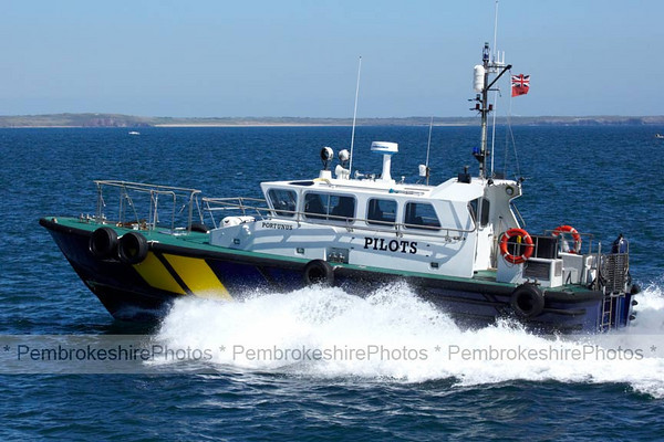 Pilot boat on Milford Haven Warterway