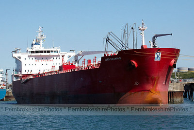 Tanker at Chevron Jetty