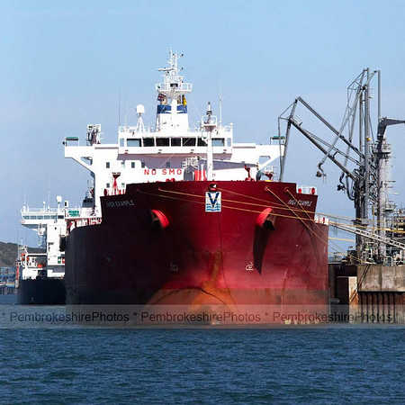 Tanker at Chevron Jetty
