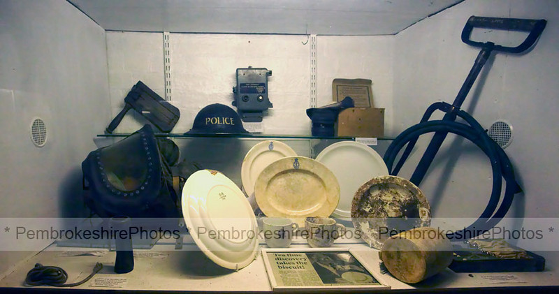 Exhibits, Martello Tower, Pembroke Dock