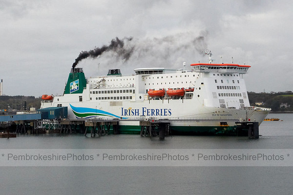 Irish Ferries, leaving Pembroke Dock