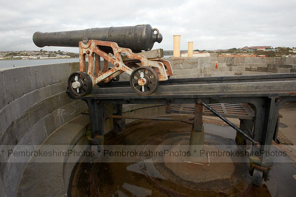 Swivel Gun, Martello Tower, Pembroke Dock