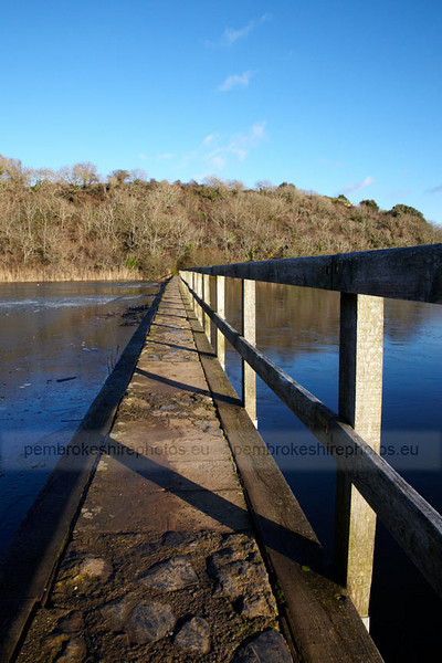 Stackpole covered in ice in December.
