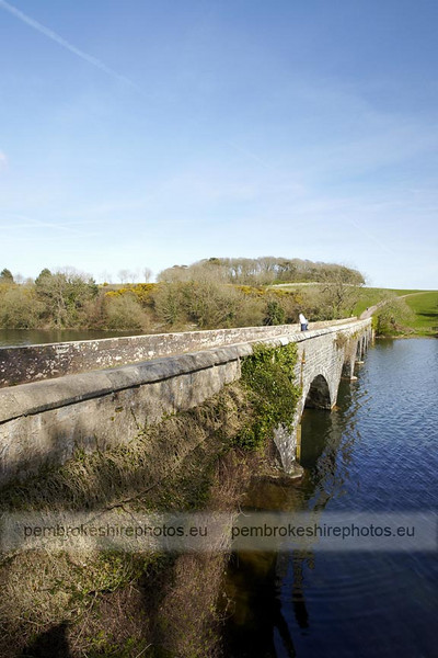 Eight Arch Bridge, Stackpole