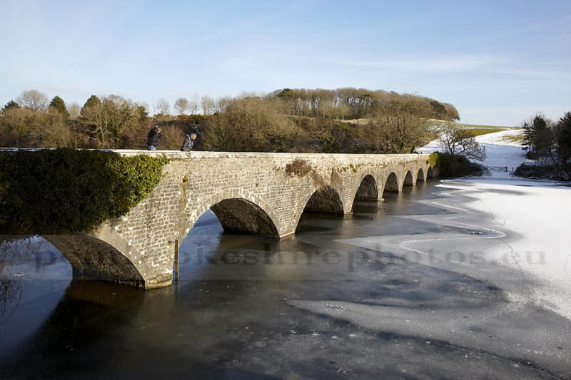 Eight Arch Bridge in December. I know I have a lot of Stackpole, but in the bad weather it was the only place I could safely get to.