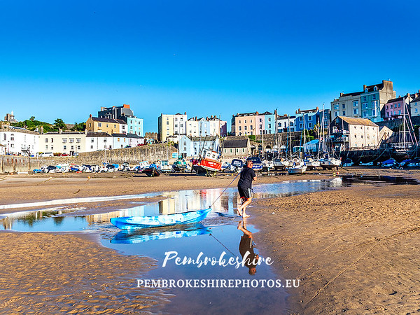 Tenby and local area.