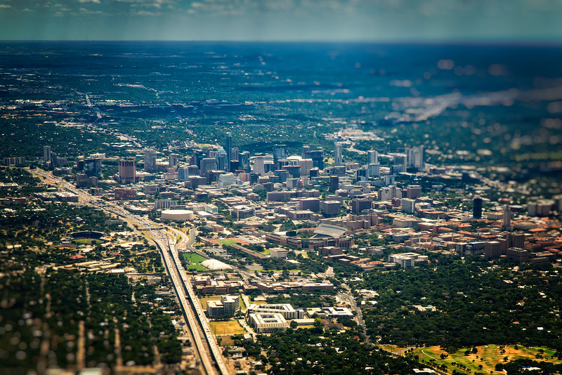 Austin from the air