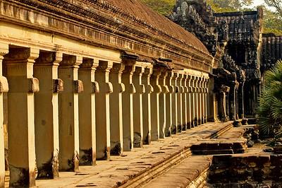 Gallery at Ankgor Wat-Angkor Wat-Cambodia