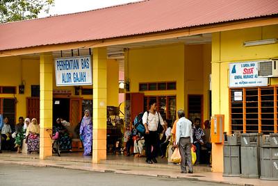 Bus Station-Melaka-Malaysia