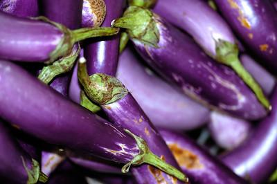 Purple egg plant-Market-Melaka-Malaysia