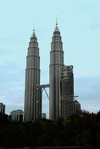 Petronas Twin Towers-Kuala Lumpur-Malaysia