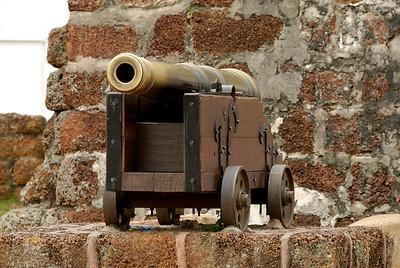 Cannon-Famosa Fort-Melaka-Malacca Town-Malaysia