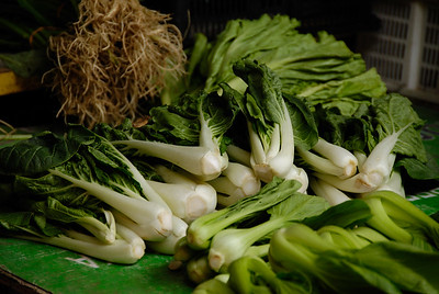Green cabbages-Market-Melaka-Malaysia