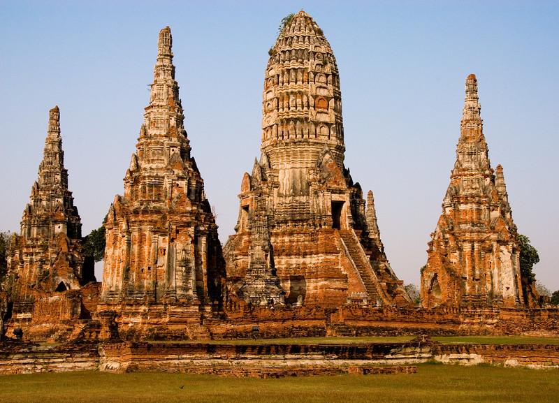Wat Chai Wattanaram-Ayutthaya-Thailand