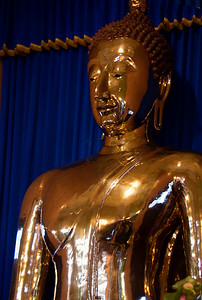 The golden Buddha-Wat Traimit-Bangkok-Thailand