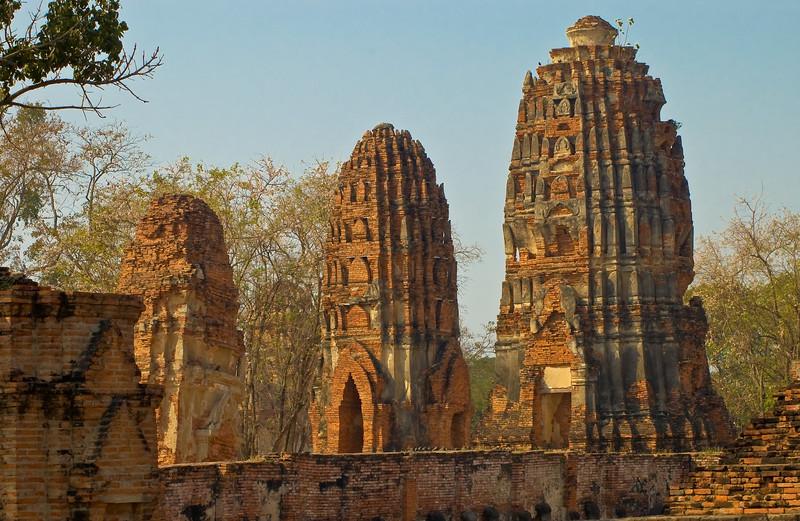 Wat Mahathat-Ayutthaya-Thailand