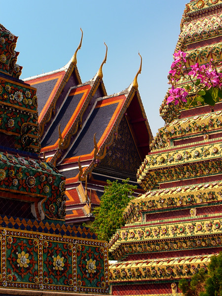 Wat Pho - Temple of the Reclining Buddha-Bangkok-Thailand