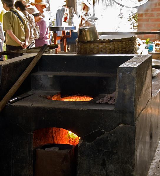 Making Coconut Sugar-Thailand