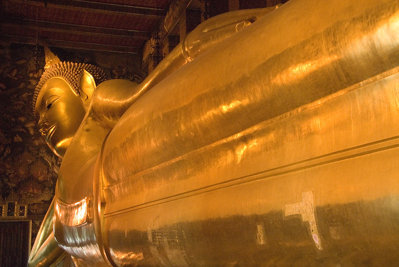 The Reclining Buddha-Wat Pho - Temple of the Reclining Buddha-Bangkok-Thailand