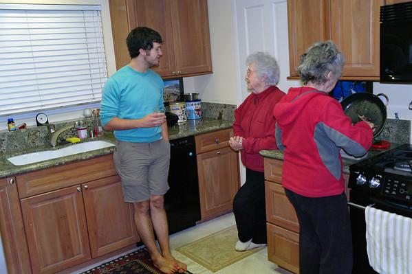 Ann, Danya, Andrew, Yousef, Dec 2010