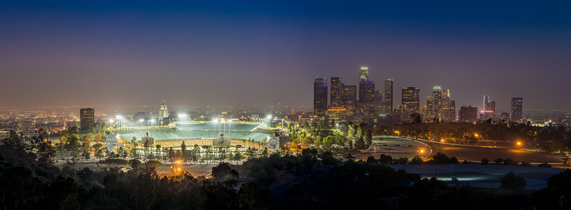 Dodger Blue Hour