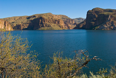 Canyon Lake.  Tonto National Forest, Arizona.