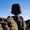 Balanced rock.  Chiricahua NM,  Arizona.