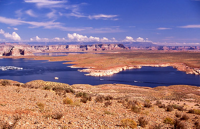 Overview of Lake Powell.  Page, Arizona.  2005