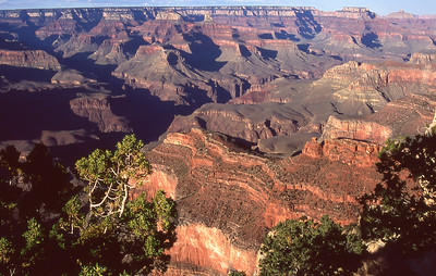 Overview from south rim.  Grand Canyon NM. Arizona.