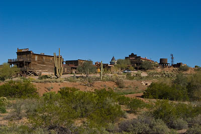 Goldfield Ghost Town.  Apache trail, Tonto National Forest, Arizona.