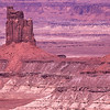 Elephant butte.  Monument valley, Arizona.
