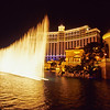 Water display in front of Bellagio Casino.   Las Vegas, Nevada.