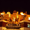 Display in front of the Caesars Palace casino.   Las Vegas, Nevada.