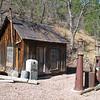 Abandon gas station.  Mongollon,  New Mexico
