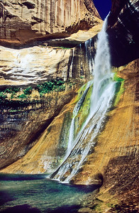 Calf falls.  Escalante, Utah.