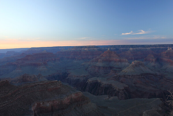 Sunset at Grand Canyon. September 2011.