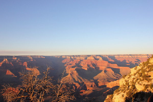 Another moment of sunset. The color changes are amazing. Grand Canyon. September 2011.