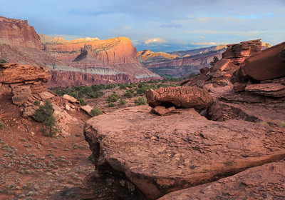 Day's End - Capitol Reef National Park
