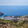 Toller Ausblick auf Port de Sóller / Great panoramic view to Port de Sóller