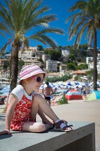 Strandmädchen / Beach girl