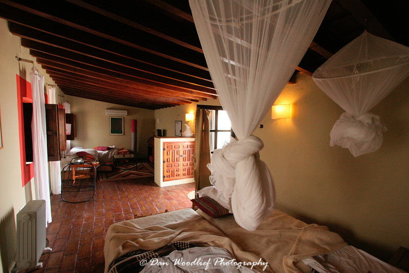 Family room at the hotel La Casa Grande.